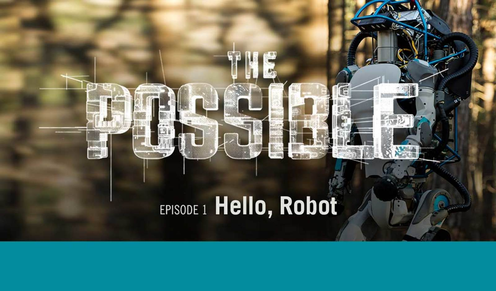 The Possible: Hello, Robot: A Virtual Reality (VR) film